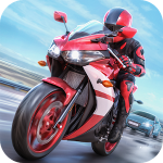 racing fever moto مهكرة