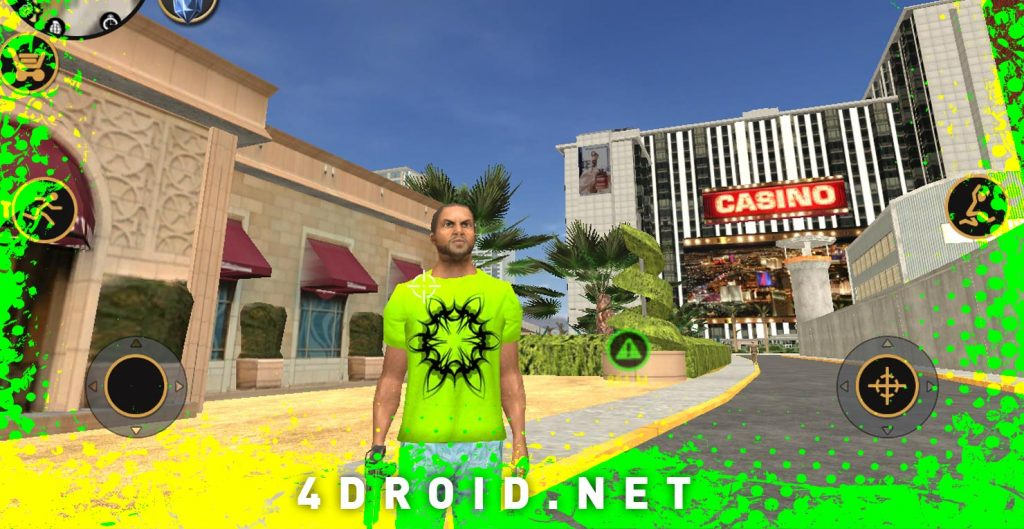 Vegas Crime Simulator 2 مهكرة للاندرويد