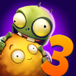 لعبة 3 Plants vs Zombies مهكرة