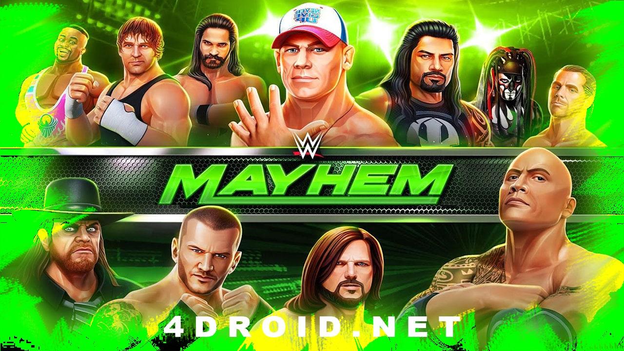 WWE Mayhem مهكرة
